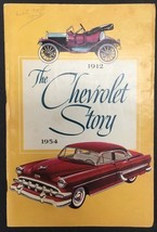 THE CHEVROLET STORY 1912-1954 vintage illustrated booklet (1953) 44-pages - $9.89