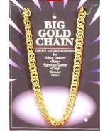 Forum Novelties Big Gold Chain Rapper Hip Hop Halloween Costume Accessor... - $9.99