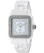 Peugeot Womens PS4897WT Swiss Ceramic Crystal White Dial Watch - $1,003.36