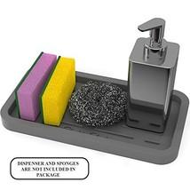 Sponge Holder - Kitchen Sink Organizer Tray for Sponges, Soap Dispenser,... - $18.64
