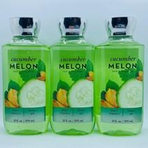 3-Pack Bath & Body Works Cucumber Melon Body Wash Shower Gel 10 fl.oz 295 ml - $29.65