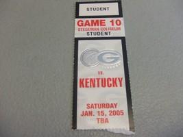 Kentucky Wildcats vs Georgia Bulldogs (1-15-2005) Basketball Ticket Stub  - $3.12