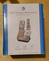 AT&T EL51203 DECT 6.0 Phone with Caller ID/Call Waiting, 2 Cordless Handsets - $19.80