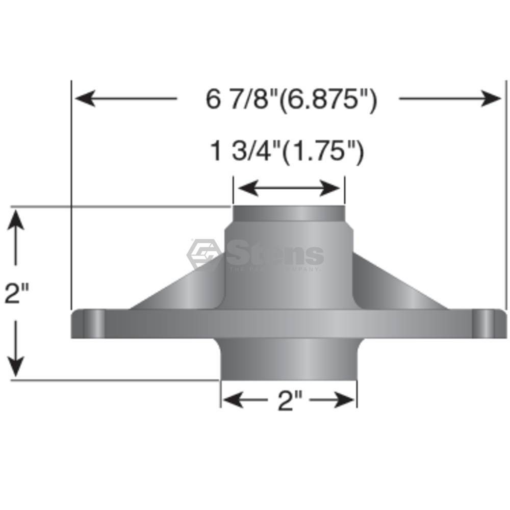 """Murray Deck Spindle 32"""" to 52"""" Cut, 20551, 492574, 24385"""