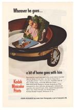 Kodak Minicolor Prints '40s Serviceman Color Photos Original Ad Page Vtg... - $7.84