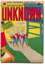 Adventures Into The Unknown 60 ACG 1954 FR - $28.39