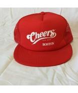 Cheers Boston Red Mesh Trucker Snapback Hat Baseball Cap Retro Vintage - $28.06