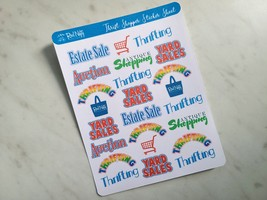 Thrift Shopper Sticker Sheet image 4