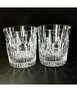 2 (Two) WATERFORD Marquis BARCELONA Cut Lead Crystal Old Fashion Glasses... - $85.49