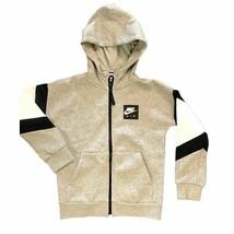 Nike fleece hooded jacket SIZE SMALL - $14.80