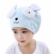 Children Dry Hair Towels High Absorption Hair Drying Towels/Shower Caps - $11.65