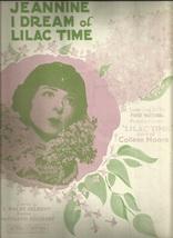1928 Jeannine I Dream Of Lilac Time Piano Ukulele Vintage Sheet Music - $7.95