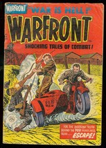 WARFRONT #20 1954-LEE ELIAS MOTORCYCLE COVER-POW G/VG - $37.25