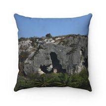 Spun Polyester Square Pillow - Unique REMOTE Mona Island - Galapagos of ... - $16.00+