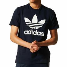 Adidas Originals Trefoil Men's Short Sleeve T-Shirt Legend Ink-White bq7940 - $29.95