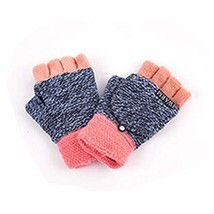 Iywish Kids Snow Gloves Fingerless Toddlers Mittens Magic Knitted Therma... - £13.69 GBP