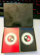 PM by PARISCO Double Deck Playing Cards Made In USA