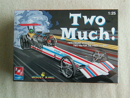 FACTORY SEALED Two Much! Twin Engine Dragster by AMT/Ertl for Model King... - $32.66