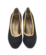 Saint Laurent Paris Bicolor Canvas/Leather Pumps Size 35.5 US5.5 UK2.5 M... - $121.55