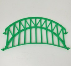 FISHER PRICE GEO TRAX GREEN FLY-BY BRIDGE PLASTIC REPLACEMENT PIECE / PART - $9.50