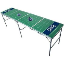 Tennessee Titans Beer Pong Table 2ft x 8ft Foldable NFL Football Field T... - $182.99