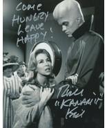 Richard Kiel signed Twilight Zone pic Serve Man. Kanamit. /JAWS Leave hH... - $21.95