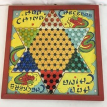 Vtg J Pressman Hop Ching Chinese Checkers Complete Original Set With Mar... - $18.81