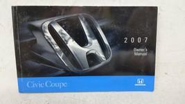 2007 Honda Civic Owners Manual 53510 - $31.53