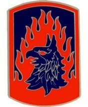 US Army 12th Aviation Brigade Combat Service Badge (2 inch) - $14.84