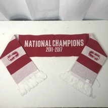 Stanford Womens Soccer Rally Striped Scarf 2011 2017 National Champions NCAA - $26.97