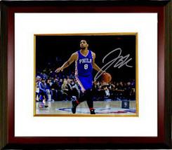 Jahlil Okafor signed Philadelphia 76ers 16x20 Photo Custom Framed (horiz... - $123.95