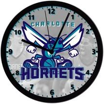 "Charlotte Hornets LOGO Homemade 8"" NBA Wall Clock w/ Battery Included - $23.97"