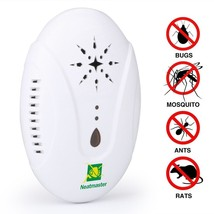 Neatmaster Ultrasonic Pest Repellent - Electronic Pest Control Plug In-P... - $30.79