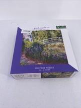 Monet The Japanese Bridge 500 Piece Puzzle the Good Puzzle Co New - $9.49