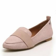 UGG Jonette Snake Leather Flat Blush Pink Size 8 - $24.19