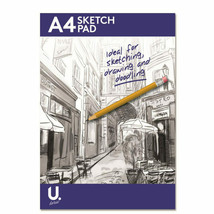 A4 Sketch Pad Book White Paper Artist Sketching Drawing Doodling Art - $3.98