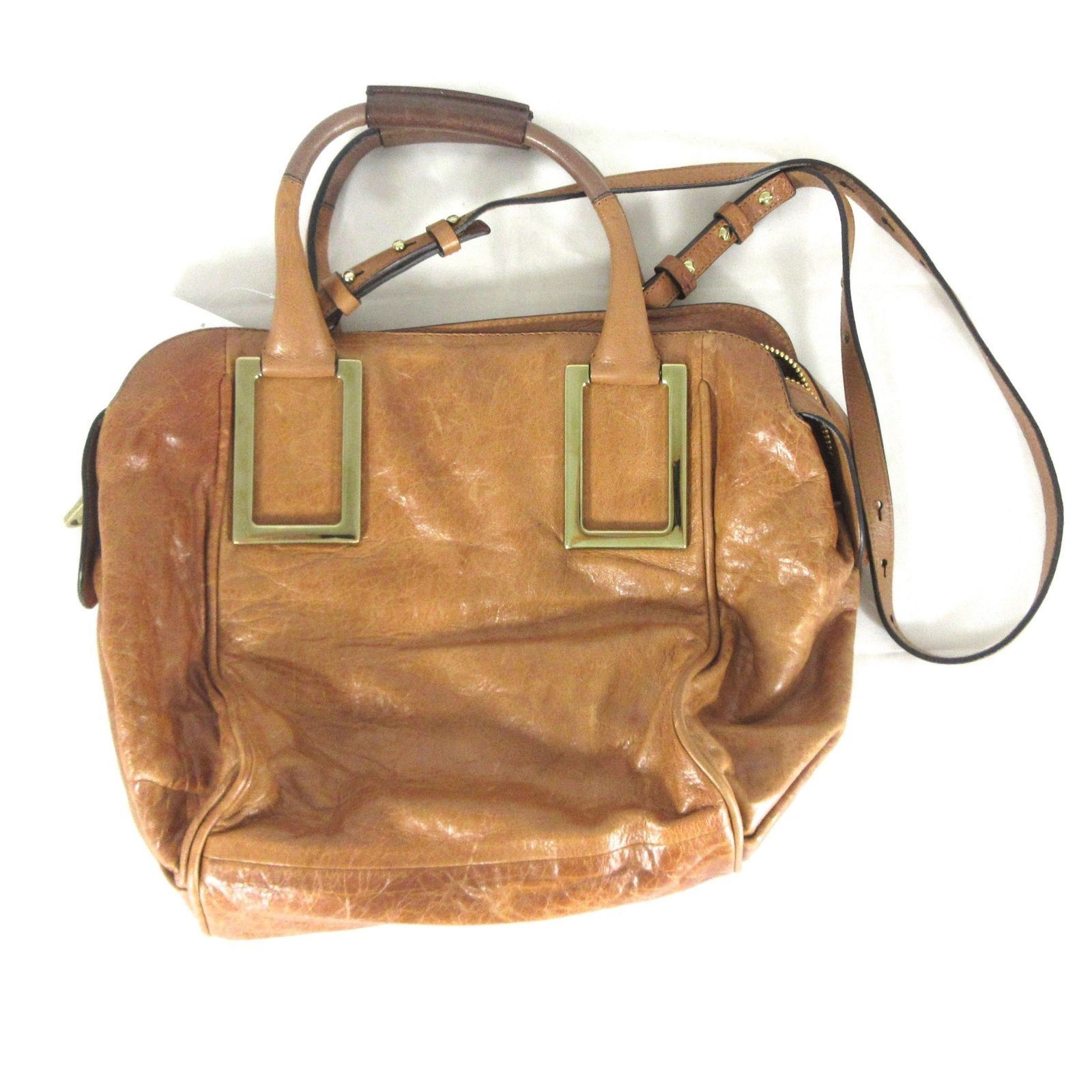 CHLOE Distressed Whiskey Leather  1550 ETHEL and 50 similar items 573fe38706cee