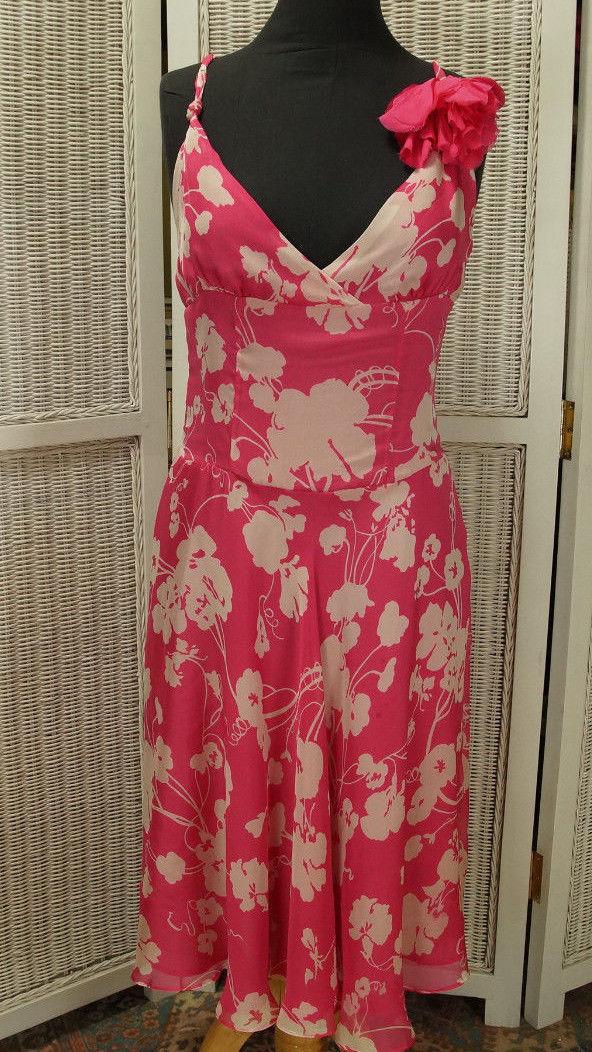 e6c703e2f2fe34 ZARA WOMAN Strappy Pure Silk Dress Pink Bold and 38 similar items. S l1600