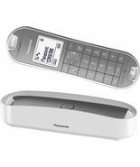 Panasonic KX-TGK310 Phone Fixed Wireless Design LCD Agenda Mode Eco Whit... - $323.83