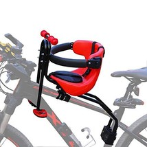 Baby Bike Seat, Front Mounted Child Bike Seat with Back Rest, Foot Pedal... - $142.99