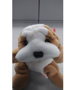 Ty Beanie Babies Wrinkles the Dog NEW - $8.99