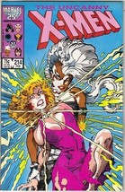 The Uncanny X-Men Comic Book #214 Marvel Comics 1987 VERY FINE- NEW UNREAD - $4.50
