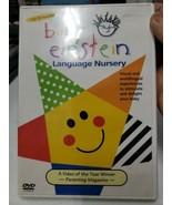 BABY EINSTEIN LANGUAGE NURSERY DVD STIMULATE YOUR BABY - $5.45