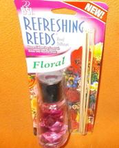 "BSI ""Floral"" Refreshing Reeds Reed Diffuser 1.01 Oz  UPC:878010006752 - $198,88 MXN"