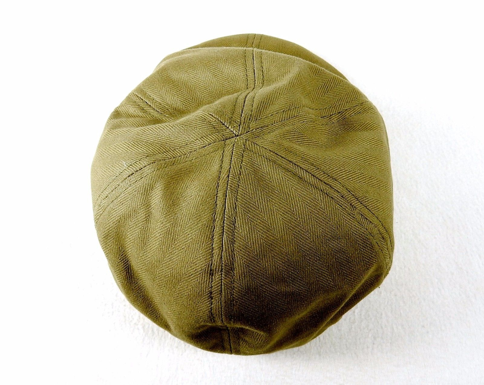 Olive Green Driver's Cap, Spandex Headband, One Size Fits Most, FlexFit #9180