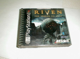 Playstation 1997 Riven the sequel to mist tested 4 disc set - $28.00
