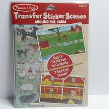 Melissa and Doug Transfer Sticker Scenes Set, Around the Farm - $9.89