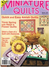 Back Issue of Miniature Quilts Spring 1992 Quilt Craft Patterns - $6.99
