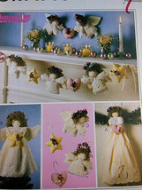 McCalls 9445 Christmas Crafts Angel Tree Topper, Wall Hanging & Garland ... - $4.84