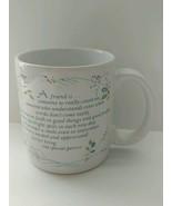 American Greetings Coffee Mug Friendship Poem Designers Collection - 8 oz - $22.76
